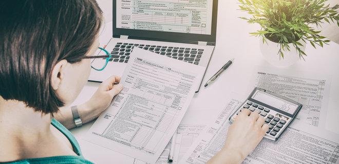 Электронная налоговая отчетность в украине бланк для заполнения декларации 3 ндфл за свое обучение