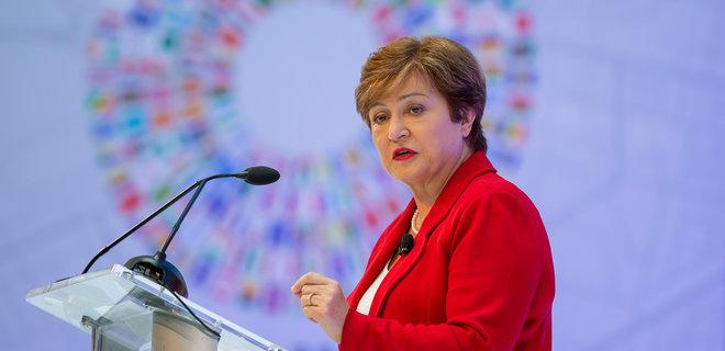 Глава МВФ пообещала Зеленскому миссию в сентябре - Фото