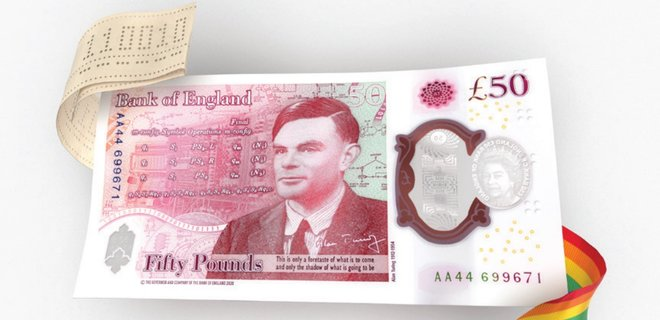 Банк Англии обновил 50 фунтов и завершил переход с бумажных на полимерные банкноты: фото  - Фото