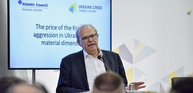 Убытки Украины от российской агрессии оценили в $100 млрд